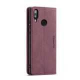 CaseMe For Original Leather Wallet Case For Huawei 10lite/P smart 2019