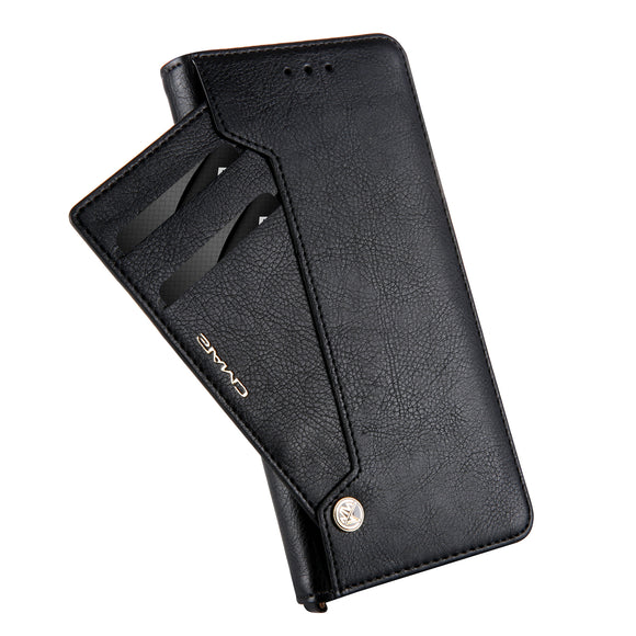 Luxury Original Leather Multi-card Slot Wallet Flip Case For Huawei