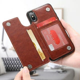 4 IN 1 Luxury Leather Case For Samsung