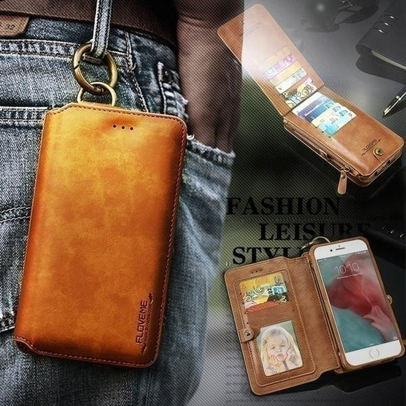 [Buy 2 Get 10% Off And Free Shipping]Classic Retro Stand Wallet Case for Samsung