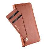 Luxury Original Leather Multi-card Slot Wallet Flip Case For iPhone
