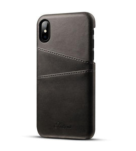 Luxury leather wallet case for Huawei