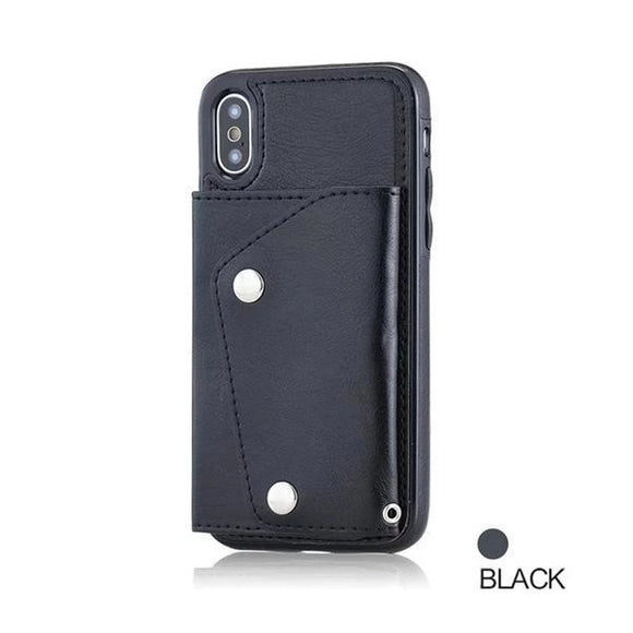 Wallet Flip  Leather Case For Iphone