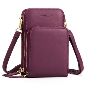 Multi-Pocket Crossbody Phone Shoulder Bag