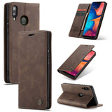 CaseMe For Samsung Galaxy A30 Wallet Kickstand Magnetic Flip Leather Case