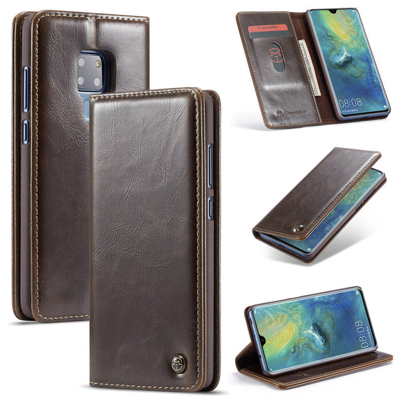 CaseMe For Huawei Mate 20 Wallet Stand Magnetic Flip Case