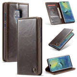 CaseMe For Huawei Mate 20 Pro Wallet Stand Magnetic Flip Case