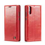 CaseMe For Huawei P20 Wallet Stand Magnetic Flip Case