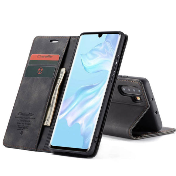 CaseMe For Original Leather Wallet Case For Huawei P30Pro