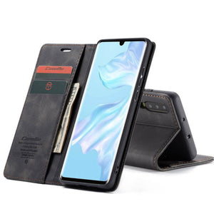 CaseMe For Original Leather Wallet Case For Huawei P30