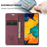 CaseMe For Samsung Galaxy A40 Wallet Kickstand Magnetic Flip Leather Case