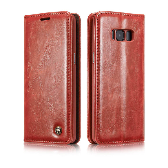 CaseMe For Samsung Galaxy S8 Wallet Stand Magnetic Flip Case