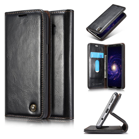 CaseMe For Samsung Galaxy S8 Plus Wallet Stand Magnetic Flip Case
