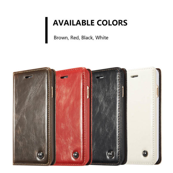 CaseMe For  iPhone 6/6s Wallet Stand Magnetic Flip Case
