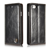 CaseMe For iPhone 7/8 Wallet Stand Magnetic Flip Case