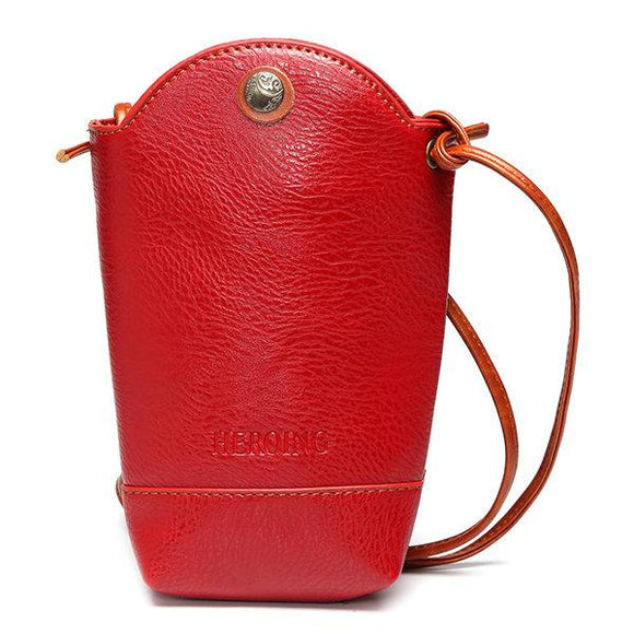 Woman  Little Phone Bag Casual Crossbody Bag Bucket Bag