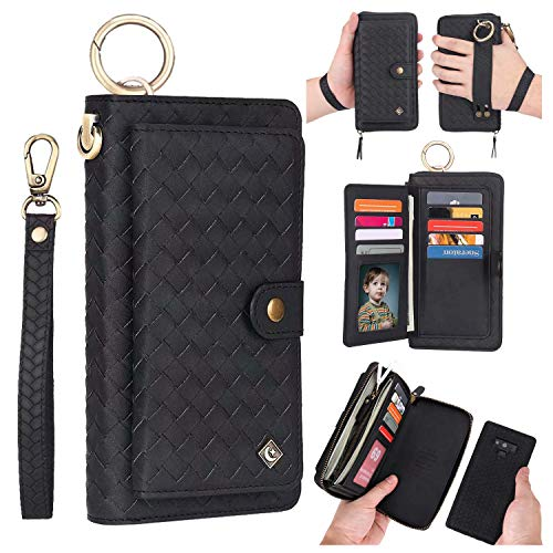 POLA Weave Zipper Wallet Case for Samsung