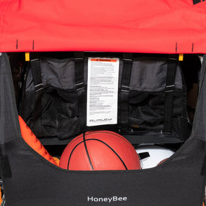 Burley Honey Bee Bicycle Trailer - Turbo Trainer Hire
