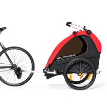 Load image into Gallery viewer, Burley Honey Bee Bicycle Trailer - Turbo Trainer Hire