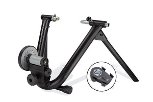 Saris Magneto Wheel On Smart Equipped Trainer Hire - Turbo Trainer Hire