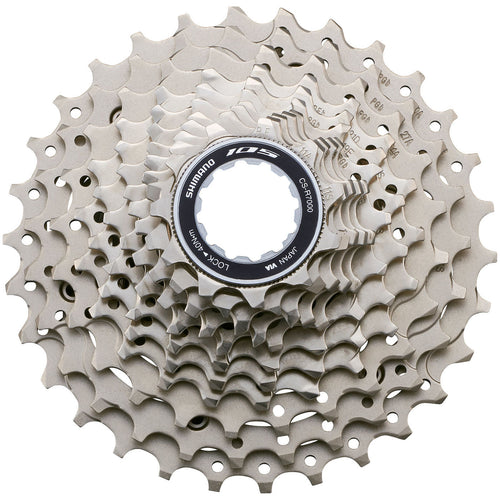 Shimano 105 R7000 11 Speed Cassette (11-28t) - Turbo Trainer Hire