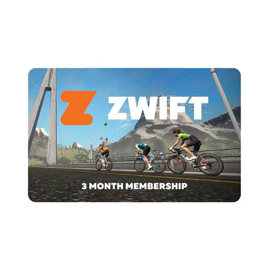 Zwift 3 Month Membership - Turbo Trainer Hire