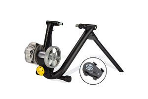 Saris Fluid² Wheel On Smart Equipped Trainer Hire - Turbo Trainer Hire