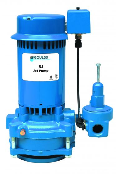 1 HP Goulds Vertical 2-Stage Jet Pump