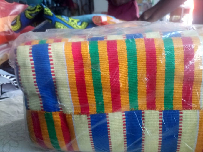 Authentic Hand Woven Kente