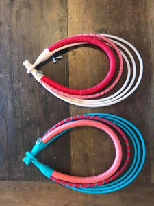 5 ring members double pink & turquoise fever necklaces ($150 each)
