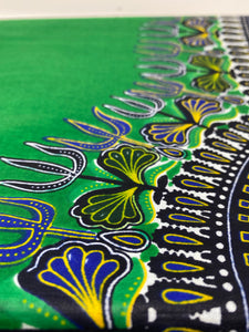 HiTarget Green Dashiki Wax