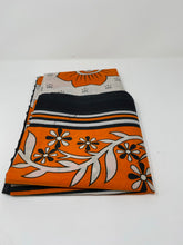 Load image into Gallery viewer, BabyMwana Kanga/Lesso Orange white