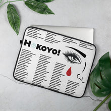 Load image into Gallery viewer, Hokoyo Laptop Sleeve