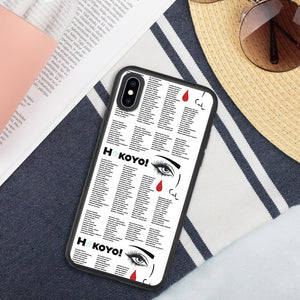 Hokoyo Biodegradable phone case