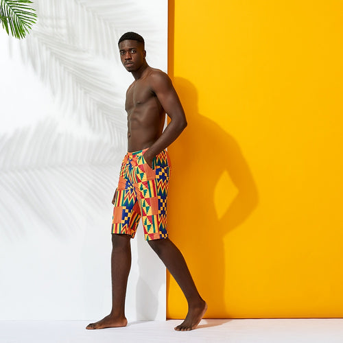 Kente Men's Swimwear