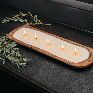TLC 5-Wick Dough Bowl Candles