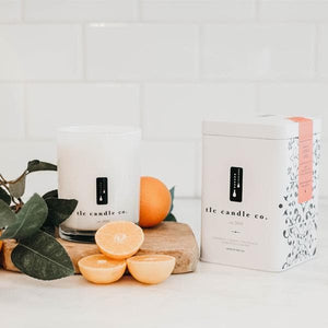Orange citrus candle | TLC Candle Co