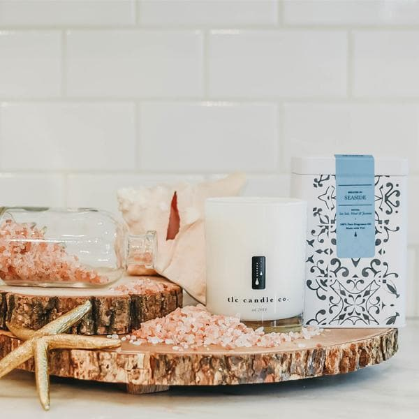 ocean scent candle - TLC Candle Co.