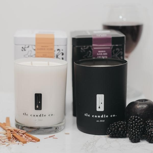 """Date Night"" Luxury 2-Wick Candle Duo"