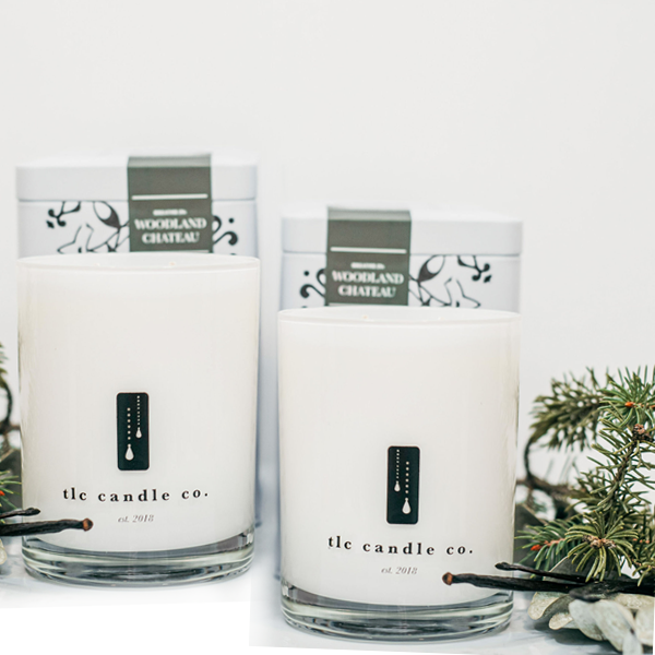 """Frolick Through The Forest"" Luxury 2-Wick Candle Duo"