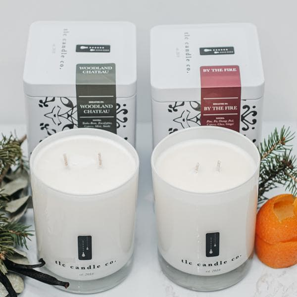 """Holiday"" Luxury 2-Wick Candle Duo"