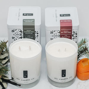 """Holiday"" Luxury 2-Wick Candle Duo - TLC Candle Co."