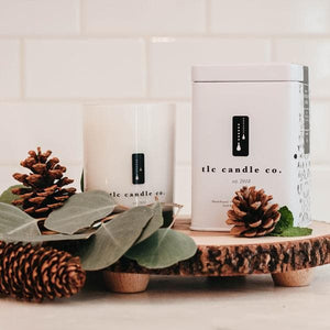 eucalyptus scented candles - TLC Candle Co.