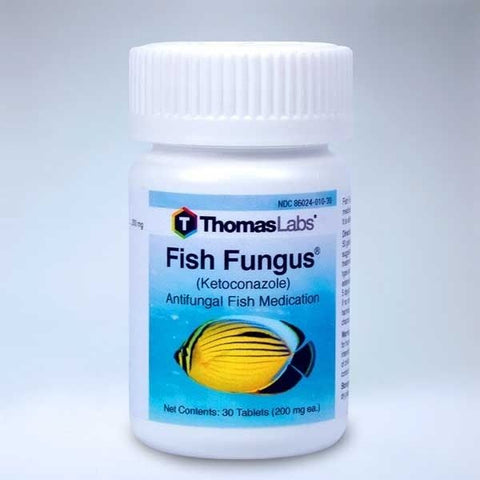 Thomas Labs Fish Anti-Fungus Ketoconazole 200 mg 30 Count