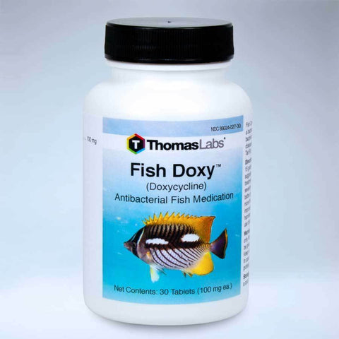 Fish Doxy 100 mg 30 Count Aquarium Bacteria Control