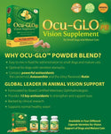 Ocu-Glo PB Vision Supplement Powder Blend for Dogs and Cats