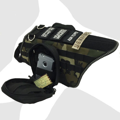 Mod-Tec Tactical Harness with Two Standard Packs (Free Patch Included)