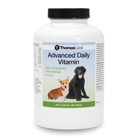 Thomas Labs Advanced Daily Vitamin for Dogs 180