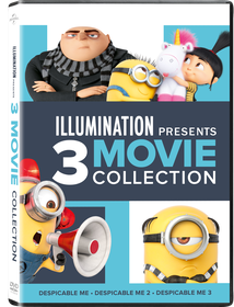Despicable Me 1 - 3 Vudu HD (instawatch)