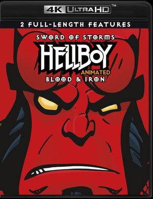 Hellboy Animated Double Feature Vudu 4K